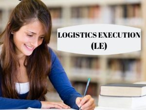 sap logistics execution videos