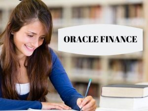 ORACLE FINANCE VIDEOS