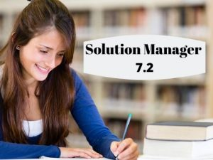 solution manager videos