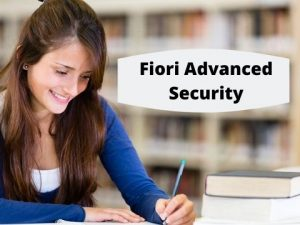 fiori advanced security videos