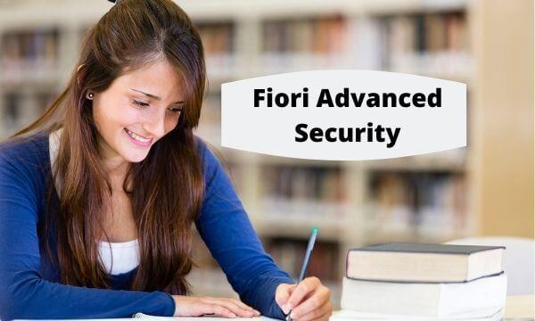 fiori advanced security videos